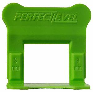 Perfect Level Pro – 300 Clips (Bases) 3 Mm Perfectlevel Pro Croisillon Autonivelant Professionnel