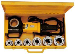 Rems 540020 Amigo 2 Coffret filière électrique avec têtes de serrage