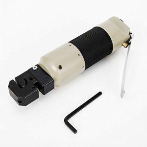 ROMYIX Poinçonneuse pneumatique, outil de poinçonnage de bride de poinçon de trou d'air de perforateur de tôle pneumatique