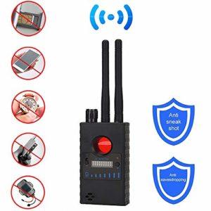 RSVT Multifonction Double Antenne Anti-Espion Détecteur De Caméra GSM Erreur Audio Détecteur De Signal GPS Tracker Objectif RF, Détecter Les Produits sans Fil 1Mhz pour 8000Mhz