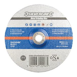 Silverline 261268 Disque à meuler Métal 230 x 6 x 22,23 mm