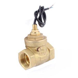 sourcingmap® Filetage femelle G1″ capteur débit eau Compteur Débitmètre Interrupteur 8-50L/min
