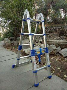 STEP STOOL Une Échelle Échelle Deux Tabouret Tabouret De Bar Échelle Petit Mini Étendue Aluminium Unilatéral Échelle Échelles D'Incendie E
