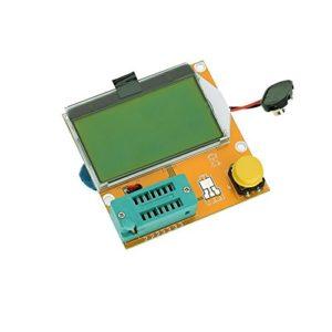 testeur de transistor – SODIAL(R)Multifonction LCD Backlight Transistor testeur Diode Triode Capacitance ESR Meter MOS PNP NPN LCR