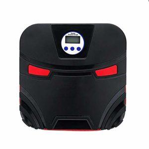 Zhicaikeji Compresor De Aire De La Bomba De Neumático Pompe À Air avec LED Voiture Portable for Voiture 12V Gonflable Écran LCD Para Baloncesto De SUV Para Coche (Color : Black, Size : One Size)
