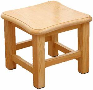 ZWBD Simple Furniture/Retro Tabouret en Bois Repose-Pieds Salon imperméable Table Basse Tabouret Protection de l'environnement Poids léger