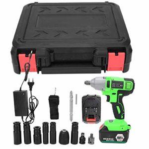 220W 98VF Clé électrique Clé électrique rechargeable sans fil Prise UE 80-240V(2pcs batteries)