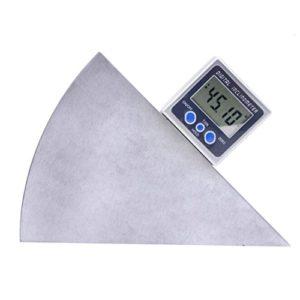 bdjksz BDJKSZ 5415–90Mini Boîtiere Niveau numérique pour mesurer le niveau d'Angle/rapporteur inclinomètreeters Aimants dans la face inférieureen bas Surface,
