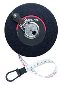 Bellota 50021-50 Ruban de mesure de 50 mètres en fibre de verre Niveau de précision III