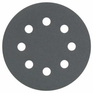 Bosch 2608605114 Disque abrasif pour ponceuse excentrique Ø 115 mm 8 Trous Grain 1200 5 pièces