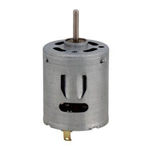 BQLZR 55mm en métal DC6–20V 365sh-2080Couple élevé Cylindre magnétique Mini moteur électrique brossé pour DIY RC Modèle Jouets