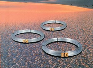 Cavatorta pas de 12mm 1.8–fer Zinc Fil d'acier galvanisé à chaud.