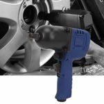 Clé à chocs pneumatique 1/4″, 1/2″ 7500RPM 850NM Clé pneumatique puissante Accessoire de quincaillerie d'équipement de garage pour le travail du bois de meubles(1/2″)