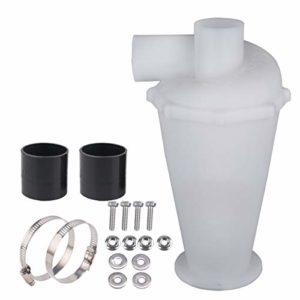 Cyclone séparateur, Collecteur de poussière, Filtre de séparation pour aspirateurs, Élément Séparateur Cyclone (Blanc)