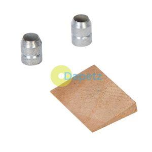 Dapetz® 3pce Marteau Wedge–1–2–1/0,9kilogram (454g–1.13kg) avec 2x Anneaux en acier galvanisé