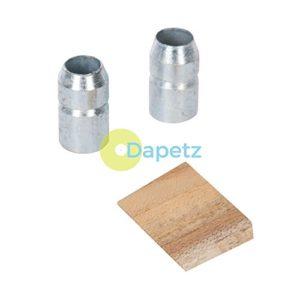 Dapetz® 3pce Marteau Wedge–3–3,2kilogram (1.36–3.18kg)–Comprend 2x Anneaux en acier galvanisé