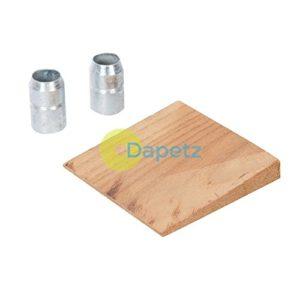Dapetz® 3pce Marteau Wedge–axes jusqu'à 2,7kilogram (2.72kg) avec 2x Anneaux en acier galvanisé