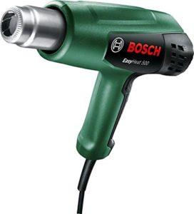 Décapeur thermique Bosch – EasyHeat 500 (1600W, débit d'air: 240 / 450 l/min, température: 300/500°C)