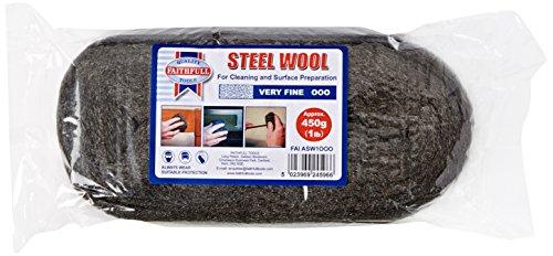 Faithfull – La laine d'acier très fine 450G 000 – FAIASW1OOO
