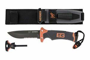 Gerber GE22-31-000751 Bear Grylls Ultimate Couteau Orange/gris
