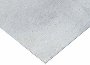 Hanwu 7075 en tôle d'aluminium, Plaque Plat en Aluminium Feuille usinabilité et soudabilité Bricolage Pièces de Machines 0,236 « 6 mm Epaisseur 15,7 » 400 mm Largeur,15.7″ 400mm Length