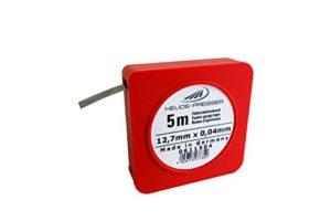Helios Preisser 611504 Ruban pour sonnette 5 m 0,04 mm