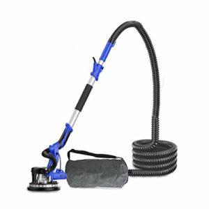 HIZLJJ Cloison sèche Sander 1180W, système de vide automatique Activer l'absorption efficace de la poussière, à vitesse variable 1000-2300RPM électrique cloison sèche Sander, poignée télescopique, amo