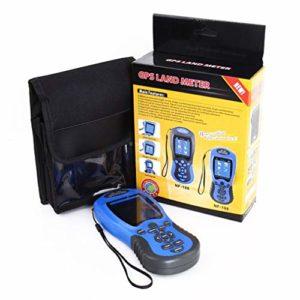 Leoboone NF-198‿GPS Appareils de test GPS Compteur de terre Affichage LCD Mesure Valeur Figurine Arpentage et Cartographie Zone Mesure