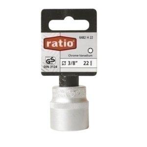 'Ratio 6483h15–Clé Douille 1/215mm Ratio