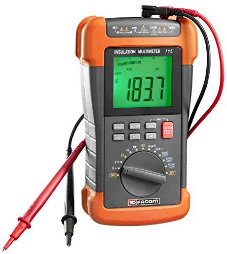 Multimètre mégohmmètres et testeur d'isolement Facom 715PB
