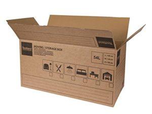 Perel PH541 Boîte de Déménagement/rangement 60 x 30 x 30 cm