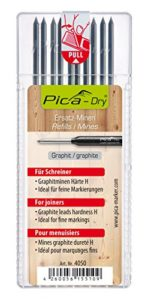 PICA 4050 – Estuche 10 minas Dry Grafito H