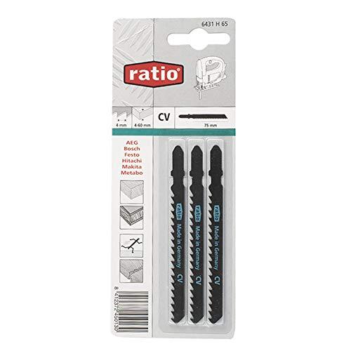 Ratio 6431H65 Scie Sauteuse Ratio pour Bosch Set de 3