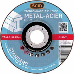 scid – disque acier 115 acier les 5