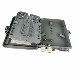 Shiwaki Boîte en fibre optique distribution 2 ports pour câbles 12 ports pour câbles de dérivation Accessoires