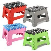 Small Folding Step Stool – 150kg Capacity by zizzi