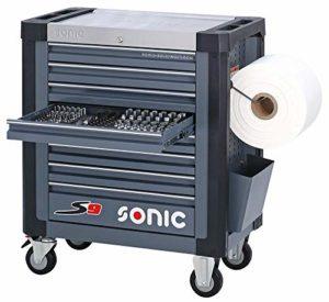 Sonic Equipment S9 Servante d'atelier garnie 527 pièces Gris foncé