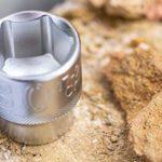 Stanley Fmmt82684-1 Coffret de Douilles 3/8″ + Cliquet 120 Dents – Gamme Fatmax – Plus Résistant – Coffret Compact et Résistant avec Attaches Métal – Jeu de 49 Pièces