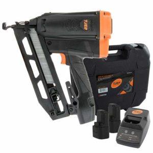 Tjep VF1664 Pistolet à ongles de finition coudée à gaz