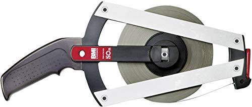 BMI 505044050A Isolan-Mètre ruban 50-A avec graduation en mm dans cadre standard, Multicolore, 13 mm x