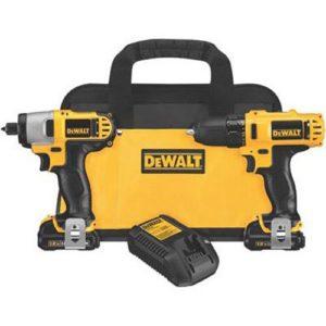 DeWALT Dck211s212volts Max Drill/Driver/Impact Driver Combo Kit