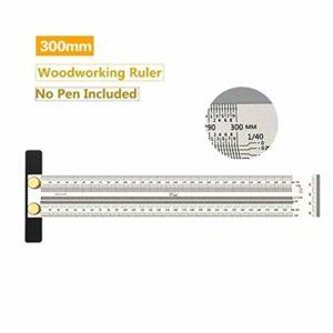 FzJs-J-in Règle de marquage ultra précise pour le travail du bois
