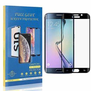 GIMTON Dureté 9H Verre Trempé pour Galaxy S6 Edge Plus, sans Bulle, sans Poussière, Ultra Résistant Protection en Verre Trempé Écran pour Samsung Galaxy S6 Edge Plus, 4 Pièces