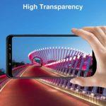 GIMTON Verre Trempé pour Galaxy A8S, Ultra Mince Protection en Verre Trempé Écran pour Samsung Galaxy A8S, Dureté 9H, Haute Transparent, 2 Pièces