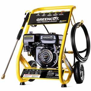 Greencut 1000042 JET260X Machines à nettoyer le sol, Jaune