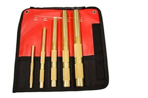 Mayhew outils 67003 5 pièces Laiton Drift Punch Set