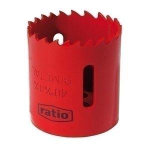 Ratio 1590h25–Scie forage 25mm dient var Ratio