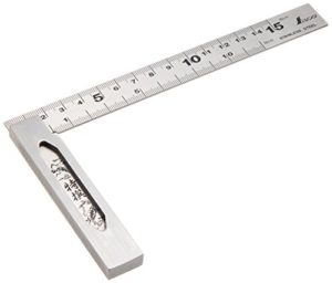 Shinwa Sokutei Precision Square With Base 15cm (62009) (Japan Import)