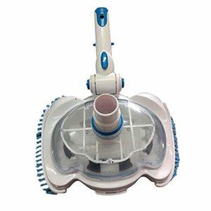 SYXZ Outils de Nettoyage et d'entretien manuels Transparents pour aspirateur de Piscine et Spa,Blanc