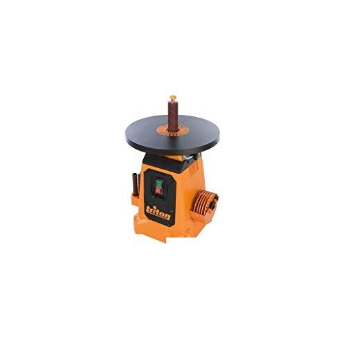 Triton 622768 Ponceuse à cylindre oscillant avec plateau inclinable 380 mm, 350 V, Orange